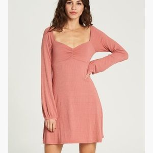NWT Billabong | Dusty Rose Walk By Dress, XS